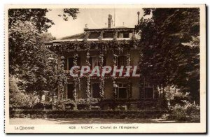Vichy Old Postcard of Chalet & # 39empereur