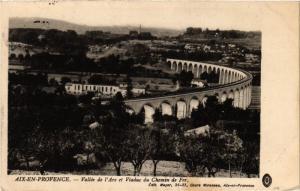 CPA AIX-en-PROVENCE - Vallee de l'Arc et Viaduc (213804)