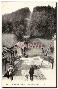 Le Mont Dore - Funicular - Old Postcard