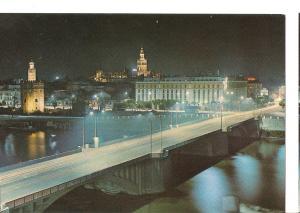 Postal 045489 : Sevilla. Puente de San Telmo y vista parcial