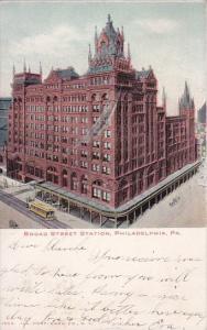 Pennsylvania Philadelphia Broad Street Station 1905