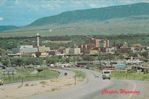 CASPER , Wyoming , 60-70s; Looking Down Across Casper, Casper Mountain