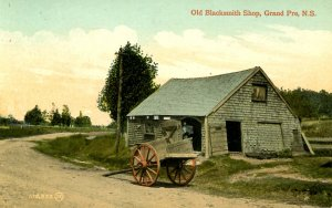 Canada - Nova Scotia, Grand Pre. Old Blacksmith Shop