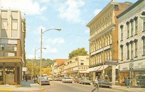 Warren PA 1969 Pontiac GTO~Liberty St~Blue Manor Restaurant~Treadeasy Shoes PC