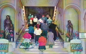 Canada Quebec Ste Anne De Beaupre The Holy Stairs