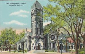 Indiana Richmond First Presbyterian Church Curteich