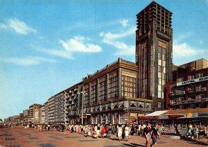 Belgium Blankenberge Casino and Promenade Postcard