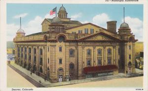 Municipal Auditorium, DENVER, Colorado, 30-40s