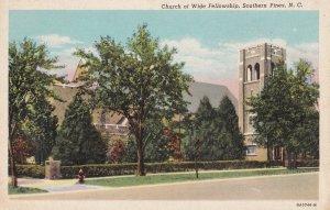 SOUTHERN PINES, North Carolina , 30-40s ;Church of Wide Fellowship