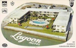 Florida Clearwater Beach Lagoon Motel & Swimming Pool