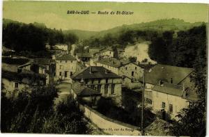 CPA Bar-Le-Duc - Route de St.-Dizier (125675)