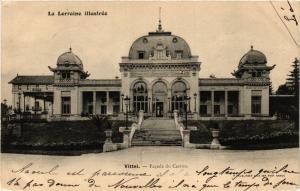 CPA Militaire, Vittel - Facade du Casino (279036)