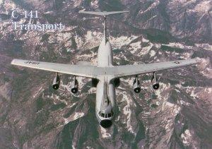 USAF C-141 Transport Airplane , 70-90s