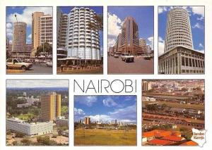 Kenya Nairobi multiviews Hotel Buildings General view Panorama Voitures Cars