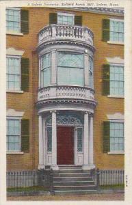 Massachusetts Salern A Salem Doorway Safford Porch 1817