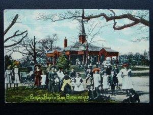 Birmingham SMALL HEATH PARK & PAVILION Large Group of Children c1911 Postcard