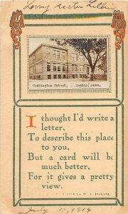 G51/ Quincy Massachusetts RPPC Postcard c1910 Coddington School