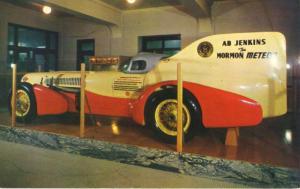 Mormon Meteor Salt Lake City Utah UT AB Jenkins State Capitol c1957 Postcard E9
