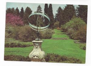 Winterthur Museum DE Sundial Garden 4X6 Size Postcard