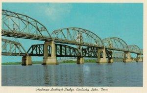 Kentucky Lake , Tennessee , 1950-60s ; Hickman-Lockhart Bridge