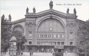 France Paris La Gare du Nord
