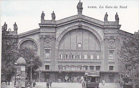France Paris La Gare du Nord