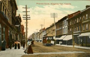 Canada - Ontario, Kingston. Princess Street