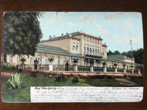 1906 Kurhaus mit Terrasse, Bad Nauheim, Germany E3