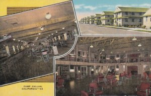 CAMP CALLAN, CA, 1930-40s ; Coast Artillery Replacement Center