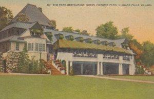 NIAGARA FALLS, Ontario, Canada, 1900-10s; The Park Restaurant, Queen Victoria...