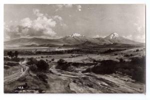 RPPC Valle de Mexico ca 1941 Valley of Mexico