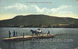 Hockanum Ferry Ferry Boats, Ship Unused