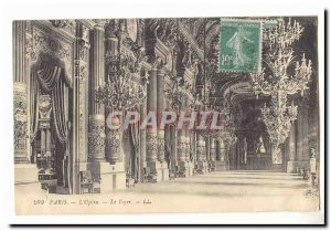 Paris (8th) Old Postcard L & # 39opera The fireplace
