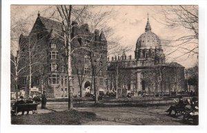 MONTREAL, Quebec, Canada, 1900-1910's; A Corner Of Dominion Square