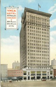 US    PC1096  YMCA HOTEL, CHICAGO, ILL