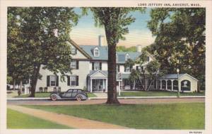 Massachusetts Amherst Lord Jeffery Inn Curteich