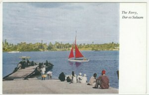 Tanzania; The Ferry, Dar Es Salaam, No 3 PPC By Dar Es Salaam Bookshop, Unused