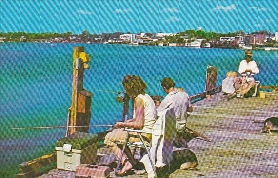 Fishing From Docks and Bridges In Carrabelle Florida
