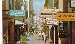 Curacao Willemstad Heerenstraat Gentlemen's Street Main Shopping Street For T...