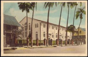 suriname, PARAMARIBO, Moravian Church Buidling  (1920s) Mission