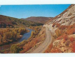 Pre-1980 RIVER SCENE Between Steamboat Springs & Craig Colorado CO AE6077