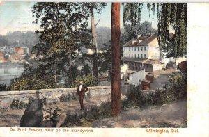 Wilmington Delaware Du Pont Powder Mill on Brandywine vintage pc DD6869
