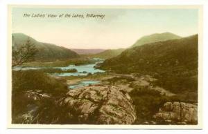 RP; Ladies view of the Lakes , Killarney , Ireland , 1920-40s