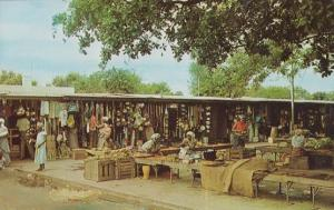 Native Banana Market Traders at Laurenco Marques African Mozambique Postcard