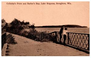 Wisconsin  Stoughton , Collsday Point , Lake Kegonsa