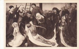 Netherlands Descent From The Cross by Rogier van der Weyden Museum Mauritshui...