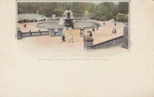 NEW YORK CITY, 1898-1907 ; Bethesda Fountain , Central Park