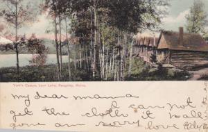RANGELEY, Maine, PU-1908; York's Camps, Loon Lake