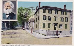 Longfellows Birthplace Portland Maine