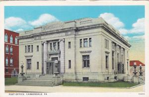 Post Office, CARBONDALE, Pennsylvania; 1910s